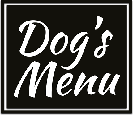Dog's Menu